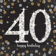Sparkling Celebration 40 Bev. Napkin