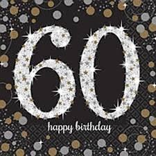 Sparkling Celebration 60 Bev. Napkins
