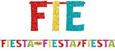 Glitter Fiesta Banner