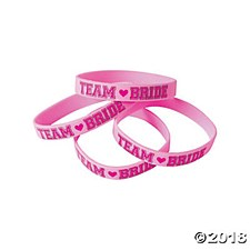 Team Bride Bracelets