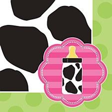 Baby Cow Print Napkins