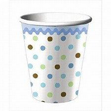 8ct cups tickled blue 9oz
