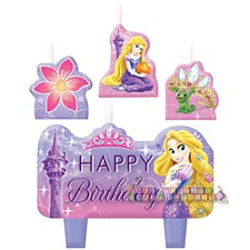 Disney Rapunzel Birthday Candle Set