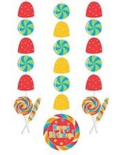 Sugar Buzz Hanging Cutouts