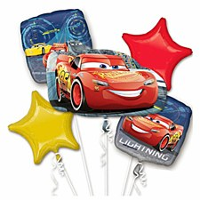 Cars 3 Balloon Bouquet