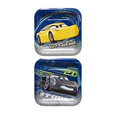 "Cars 3 7""Plates"