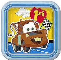"Cars 1st Birthday 7""Plates"