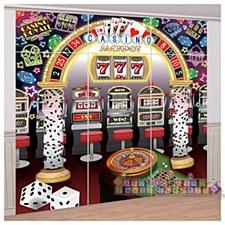Casino Wall Decorating Kit