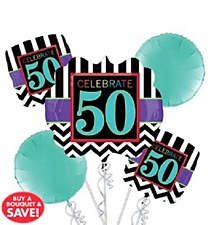 "Birthday Celebration ""50"" Bouquet"