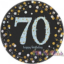 "Sparkling Celebration 70 7""Plate"