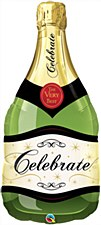 "39""Celebrate Champagne Bottle"
