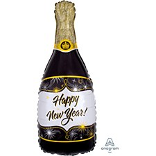 Champagne New Year Foil Balloon