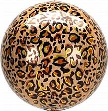 "16""Leopard Print Orbz"