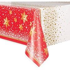 Gold Sparkle Christmas Tablecover