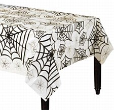 Clear Spider Web Tablecover