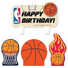 Basketball Candle Set