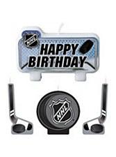 NHL Birthday Candle Set 4pcs.