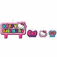Hello Kitty Birthday Candle Set