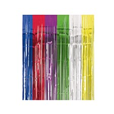 Multi Color Metallic Curtain
