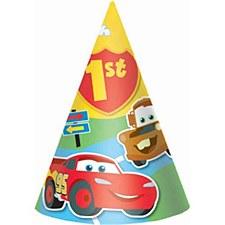Cars 1st Birthday Hats