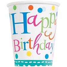 Confetti Cake Birthday Cups