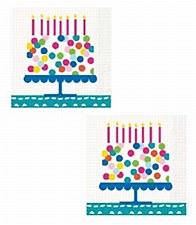 Confetti Cake Bev. Napkins