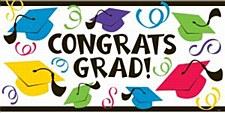 Graduation Banner Large 5ft
