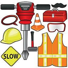Construction Photo Fun Signs