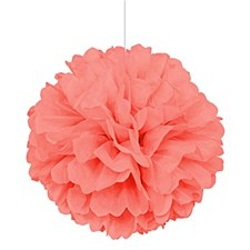 Coral 16in Tissue Ball