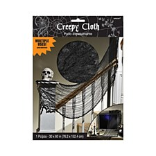 Black Creepy Cloth