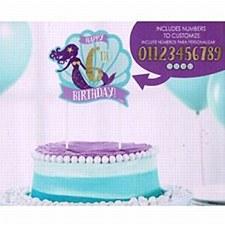 Mermaid Customizable Cake Pick