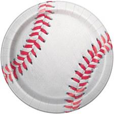 """Baseball 9""""Plates"""
