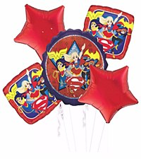 Super Hero Girls Balloon Bouquet