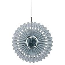 Silver Deorative Fan