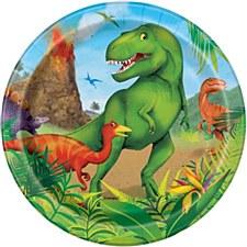 Dinosaur 7in Plate