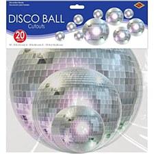 Disco Ball Cutouts