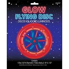 Glow Flying Disc 7.25 in diameter