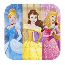 "PRINCESS DREAM BIG 9"" PLATES"