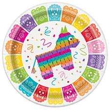 Mexican Fiesta Dinner Plates