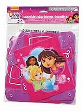 Dora & Friends Happy Birthday Banner