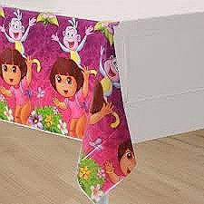 Dora's Flower Adventure Plastic Table Cover