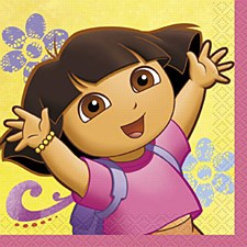 Dora The Explorer Bev. Napkin