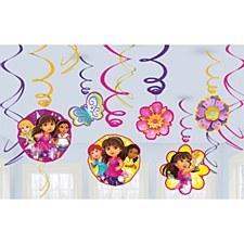 Dora & Friends Swirl Decorations