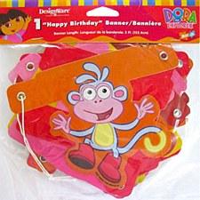 Dora tHe Explorer Happy Birthday Banner