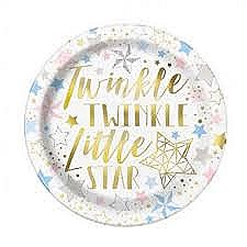 9in Twinkle Little Star Plates