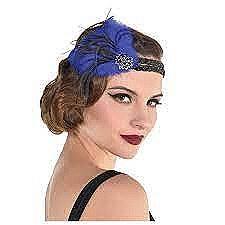 Midnight Luxe Feather Headband