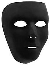 BLACK MASK FULL FACE