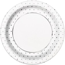 Elegant Silver Dots