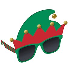 Elf Hat Glasses