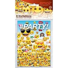Emoji Invitation Card